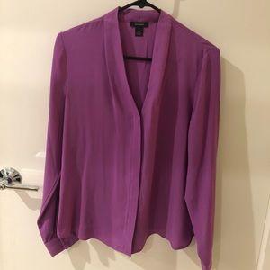 Halogen Purple Blouse